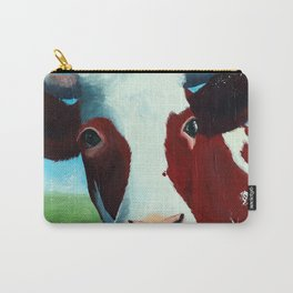 Animal - Daisy the Cow - by LiliFlore Carry-All Pouch