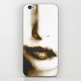 """""""go to the devil"""" iPhone Skin"""