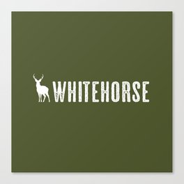 Deer: Whitehorse, Yukon Canvas Print