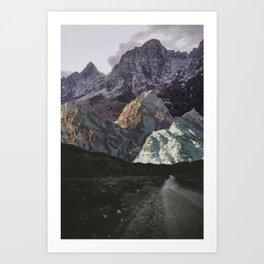 Night, A Landscape Art Print