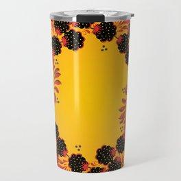 Sunny khokhloma Travel Mug