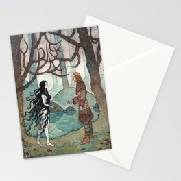 Forest meeting Stationery Cards