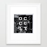occult Framed Art Prints featuring Occult by Mario Zoots