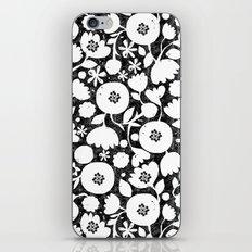 clear cut flowers iPhone & iPod Skin