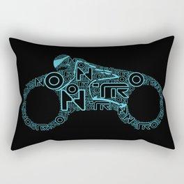 Tron Legacy: Light Cycle Rectangular Pillow