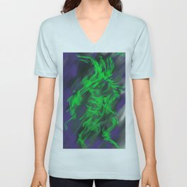 Green Warrior Unisex V-Neck