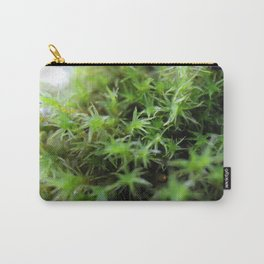 Macro moss Carry-All Pouch
