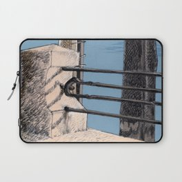 Baveno Dock, Northern Italy Laptop Sleeve