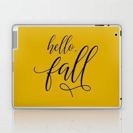 hello, fall Laptop & iPad Skin