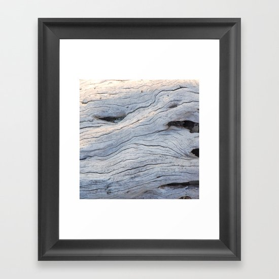 Drifting Framed Art Print