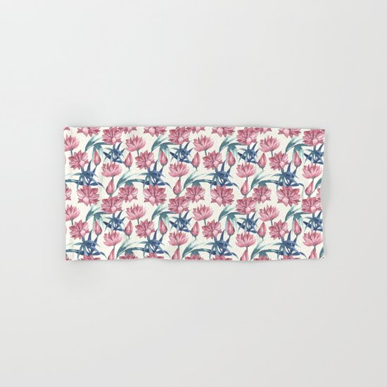 Oriental Flowers Hand & Bath Towel