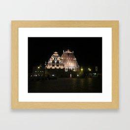 House of Blackheads at Night Framed Art Print