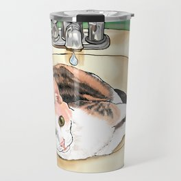 Catrina in the Sink Travel Mug