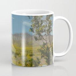 Trippy Joshua Tree super bloom Coffee Mug