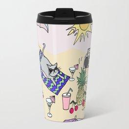 summer cats Travel Mug