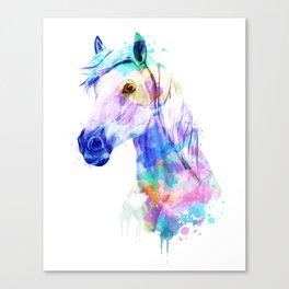 Horse Watercolor, Horse Print, Watercolor Print, Watercolor Animal, Horse Painting, Horse Gift Print Canvas Print