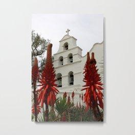 San Diego Mission Metal Print