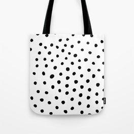 Painted Dots Tote Bag