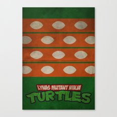 LYNAS Mutant Ninja Turtles: Michelangelo Canvas Print