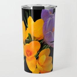 Think Flowers - Crocuses Travel Mug