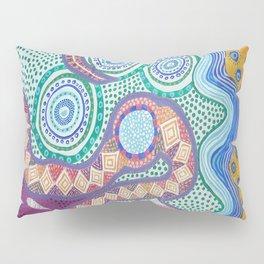Rainbow Serpent Pillow Sham