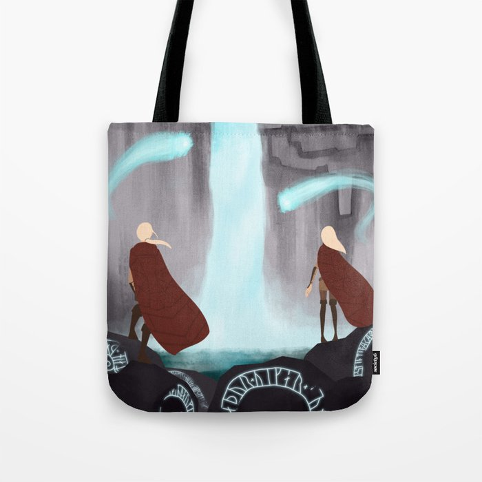 Waterfall of spirits Tote Bag