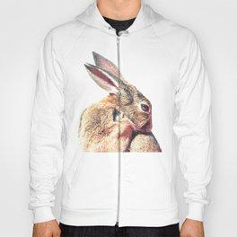 Rabbit Portrait Hoody