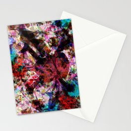 Skull and sharks Stationery Cards