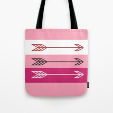 Arrows 3 Blush Tote Bag