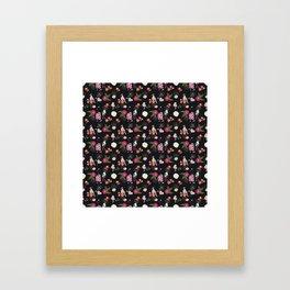 Eastern delight Japanese garden Framed Art Print