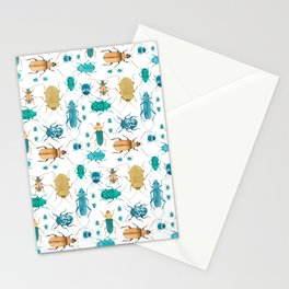 Beetles #2 Stationery Cards