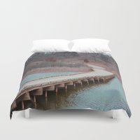 michigan Duvet Covers featuring Michigan by Ziggy Photography