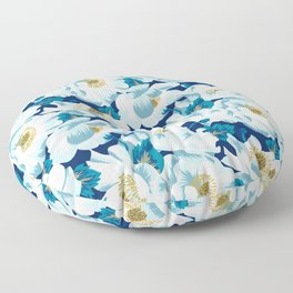 Mount Cook Lily (Night) Floor Pillow