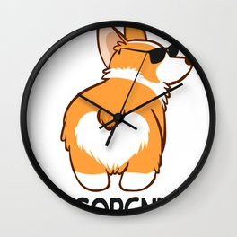 Vintage Comical Concealed Graphic Tee Shirt Gift Funny Incorgnito Sarcasm Silly Comedy Joke Men Wall Clock