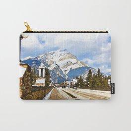 Cascade Mountain - Banff  Alberta Canada Carry-All Pouch