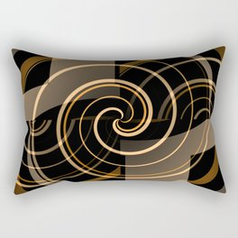 Caramel & Licorice Fudge Rectangular Pillow