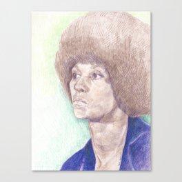 Angela Davis Canvas Print