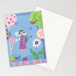 Fairy in the Garden Stationery Cards