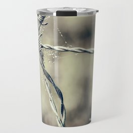 Pointy Droplets Travel Mug