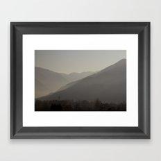 Mountains #1 Framed Art Print