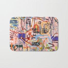 Shamanic Painting 02 Bath Mat
