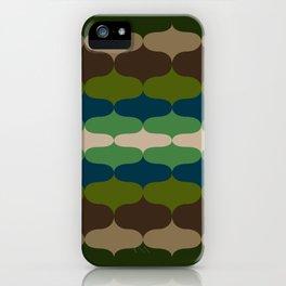 Retro 70s Pattern 4 iPhone Case