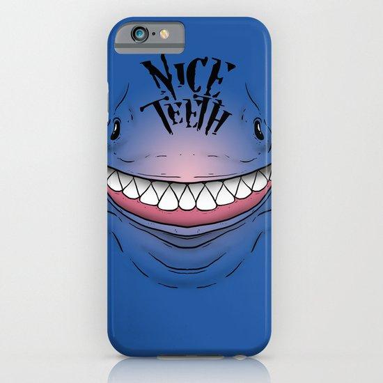 Nice Teeth iPhone & iPod Case