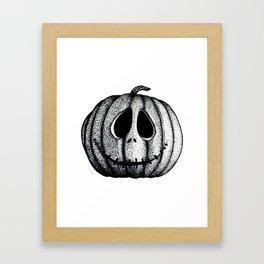 Jack O'Lantern Framed Art Print