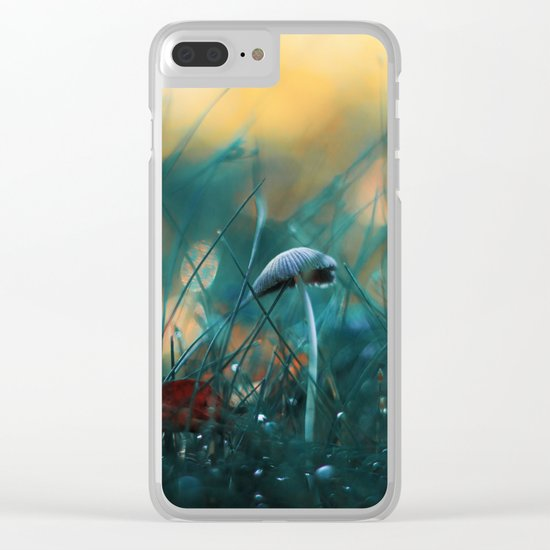 Fire in the Water Clear iPhone Case