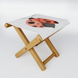 ladybug Folding Stool