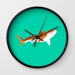 Tiger Shark Wall Clock