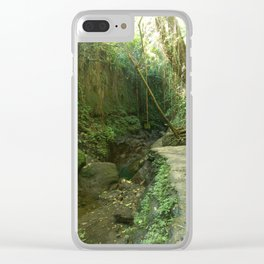 Monkey Forest IV Clear iPhone Case