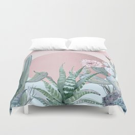 Desert Sunset by Nature Magick Duvet Cover