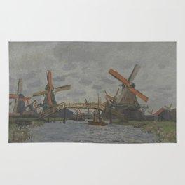 Windmills near Zaandam Rug
